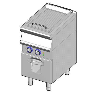elec vapor grill single